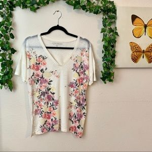 Lucky Brand Floral Top | Size M